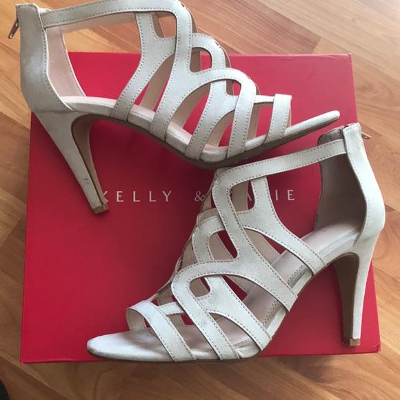 712d75c152f9 Kelly   Katie Shoes - Kelly   Katie cream faux suede sandal